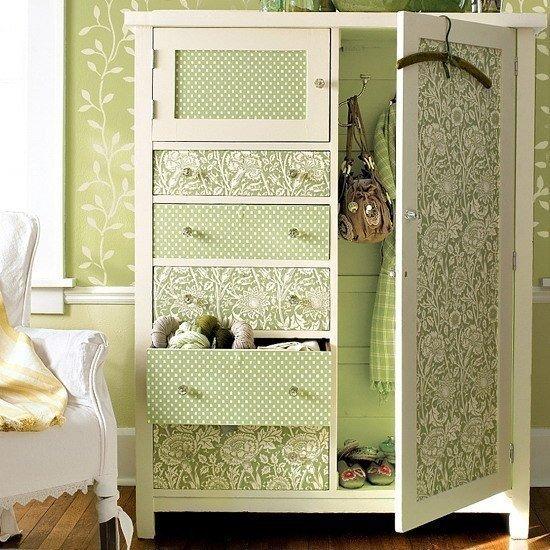 Как отреставрировать своими руками старый шкаф