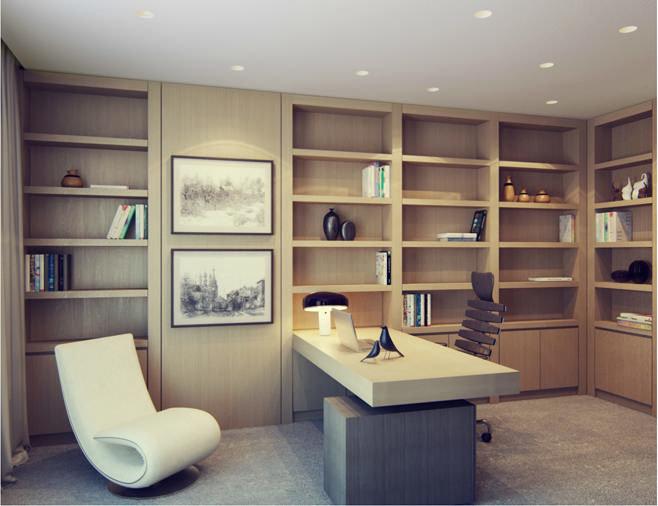 Дизайн и кабинетов в квартире
