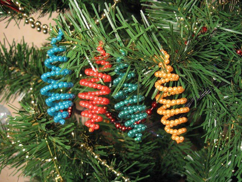 Новогоднее украшение для елки своими руками