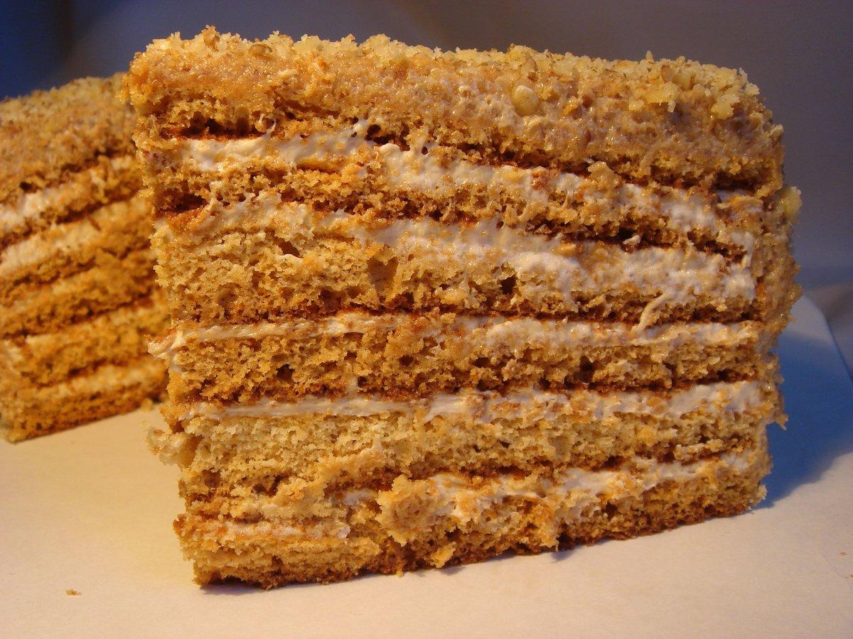 Торт из готовых бисквитных коржей 11