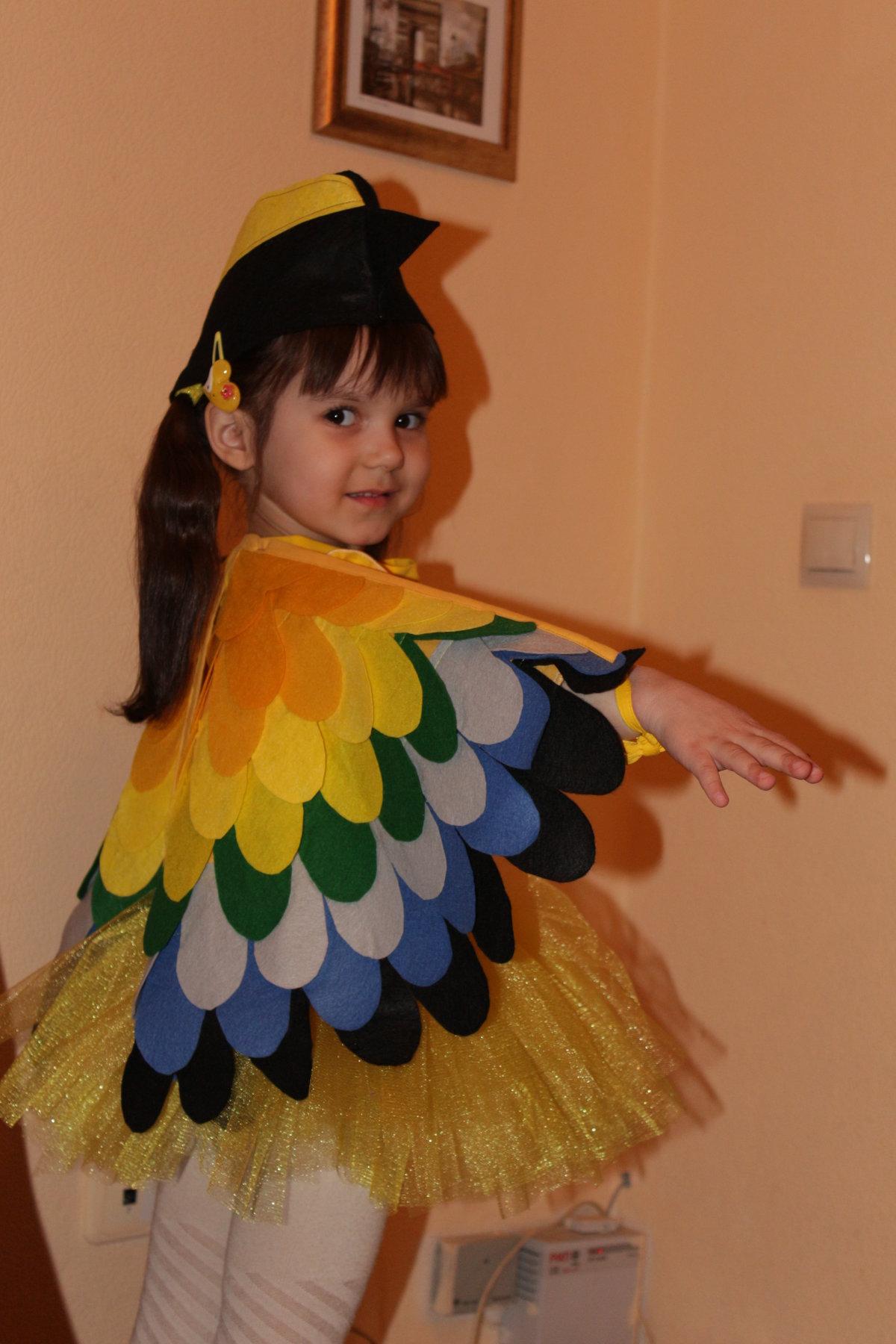 Костюм птицы своими руками для девочки