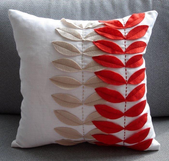 Креативные наволочки для подушек своими руками