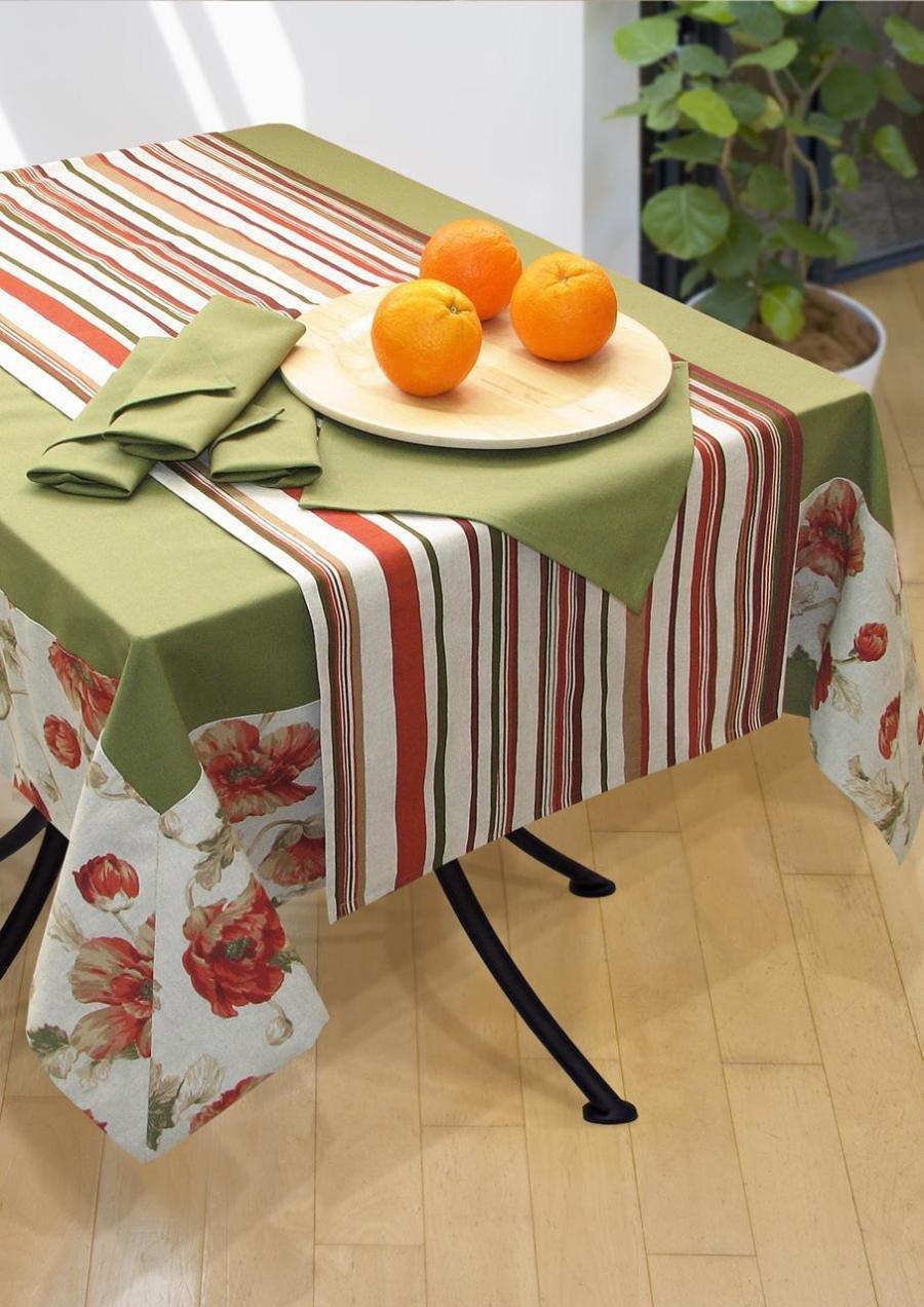 Скатерть на кухонный стол своими руками фото