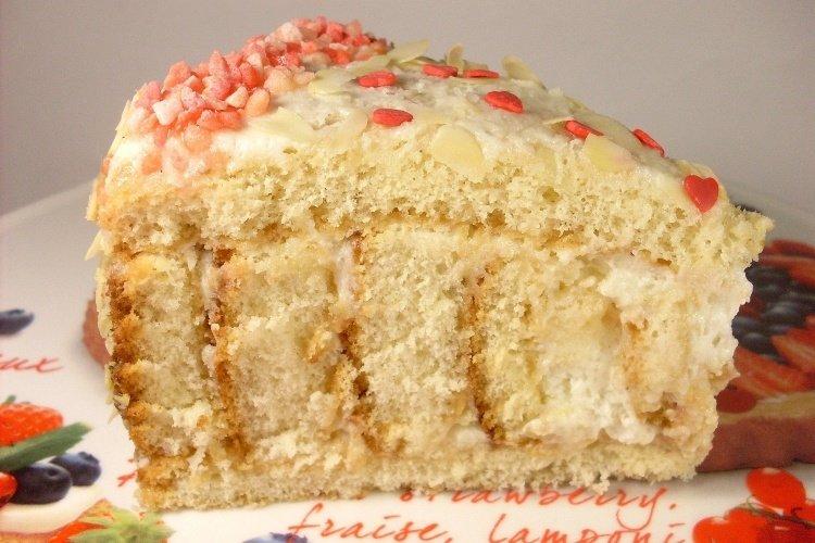 Как сделать торт с йогуртовым кремом 897