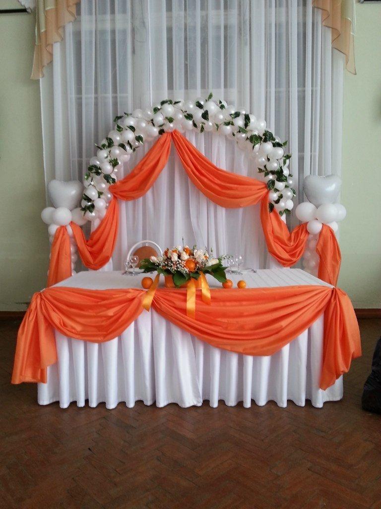 Свадьбаукрашение зала своими руками 22