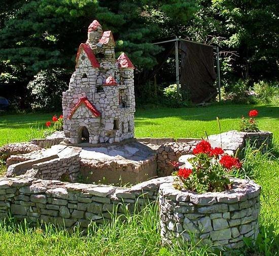 Поделки замки из камней своими 335