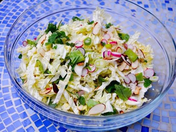 Пекинский салат овощной с