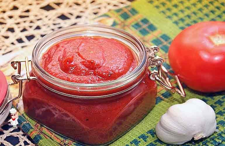 Приготовление соуса из помидор в домашних условиях  577