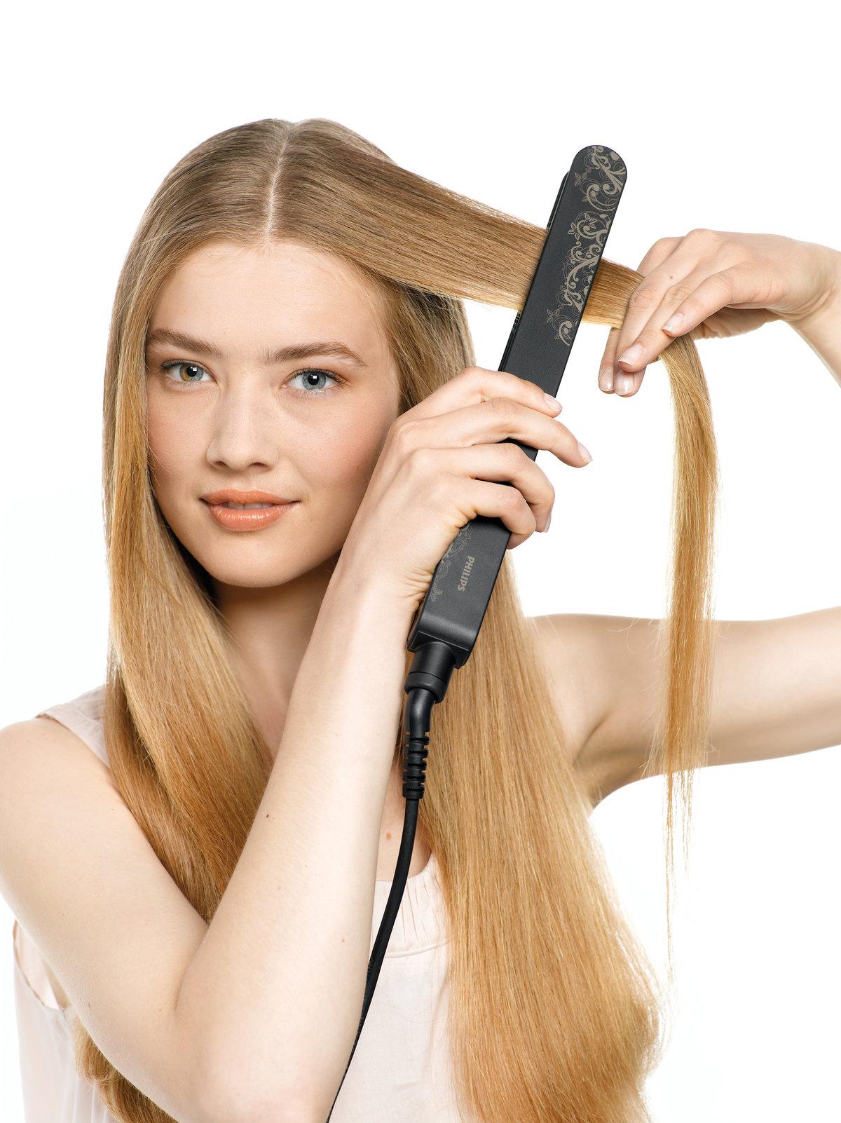 Как без утюжка выпрямить волосы - 7 лучших способов с фото 98