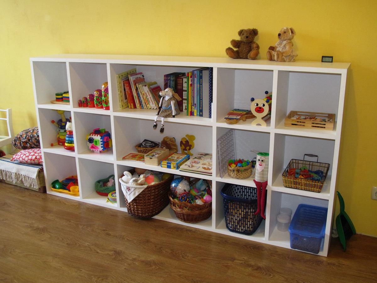 Ящики своими руками для игрушек в детской
