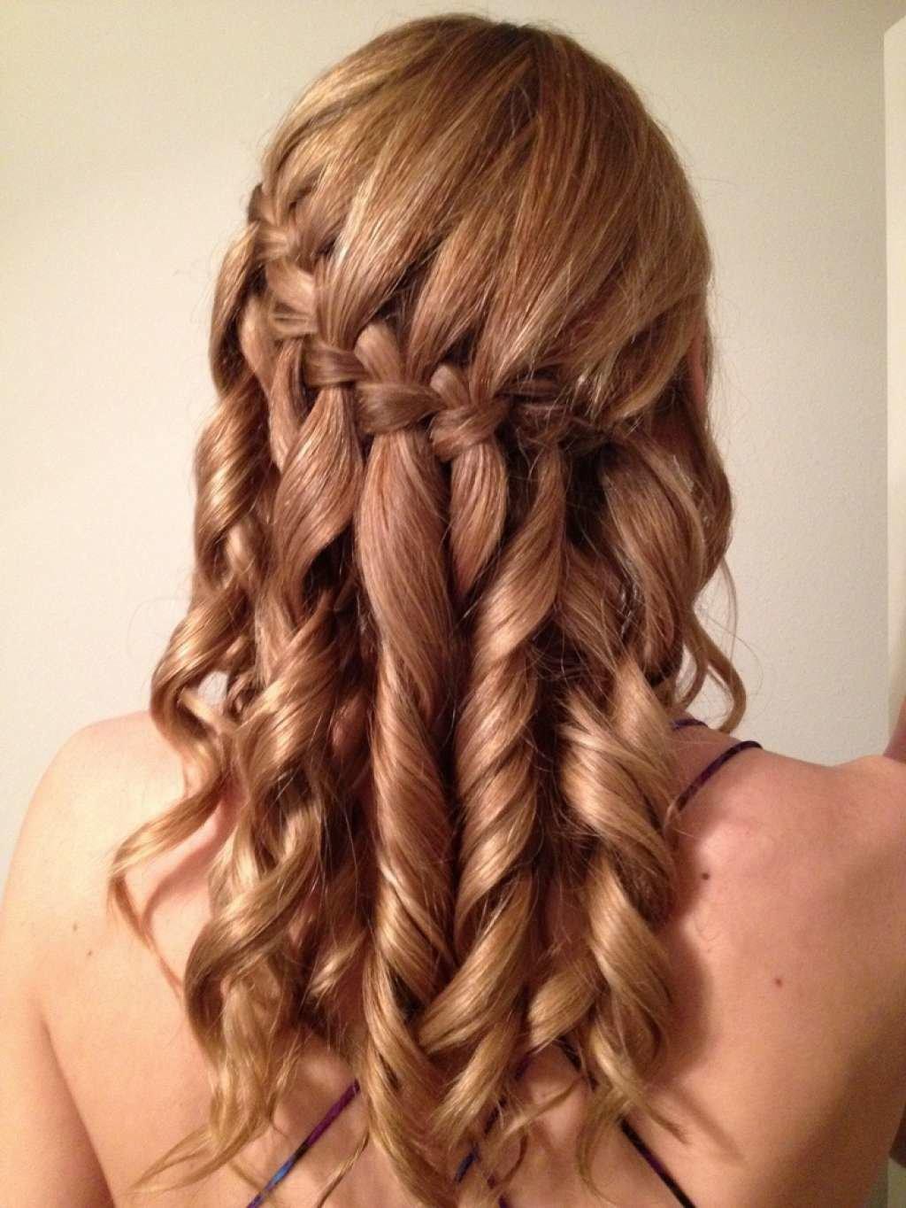 Фото французского водопада причёска