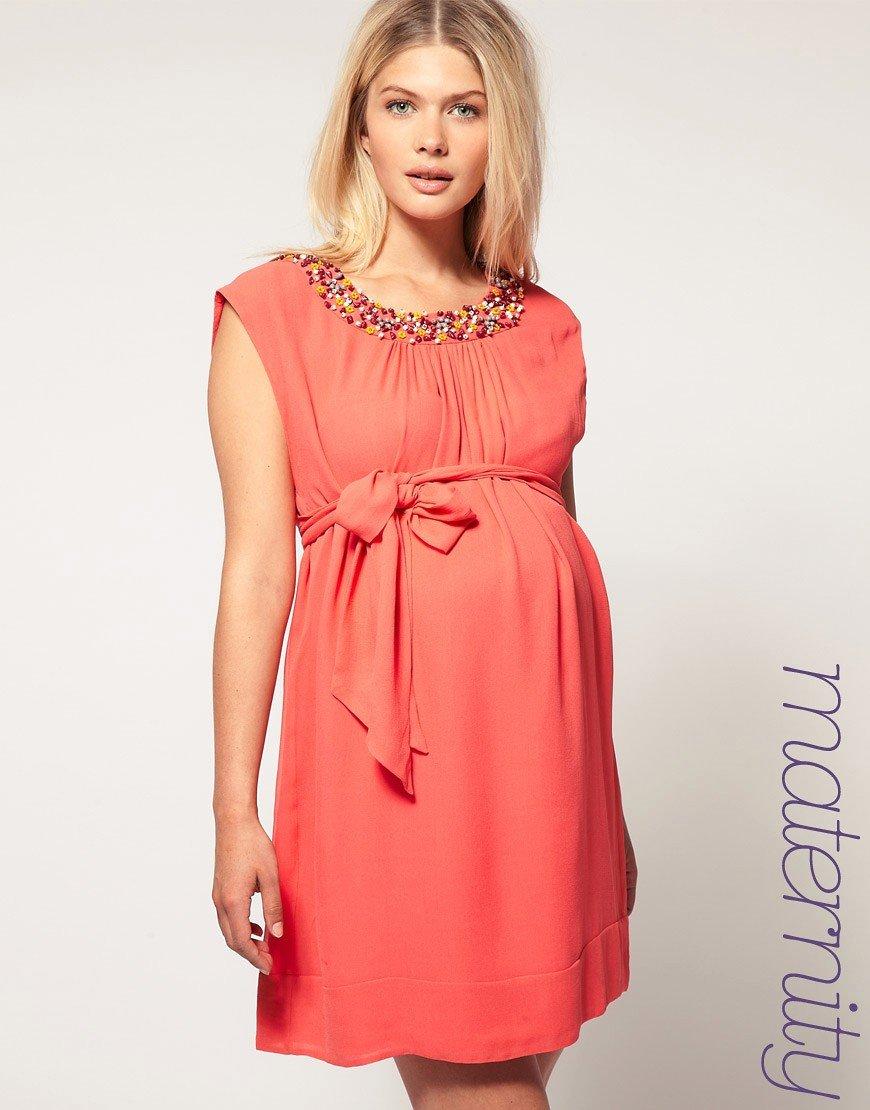 Платье для беременных своими