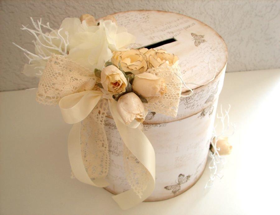 Коробка для даров для свадьбы своими руками 59