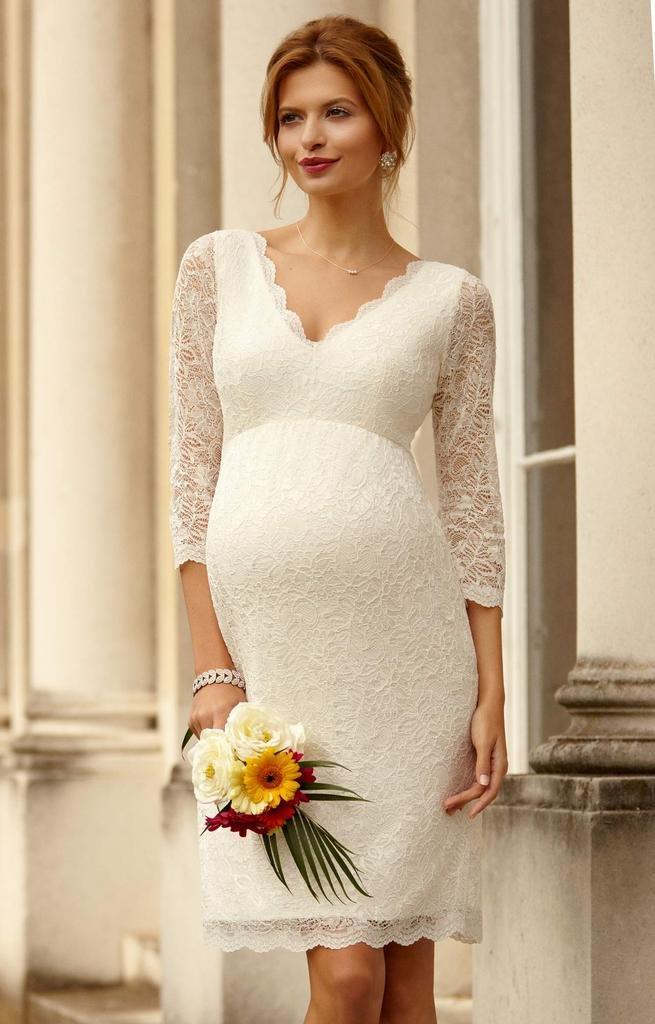Платье для беременной на регистрацию брака 84