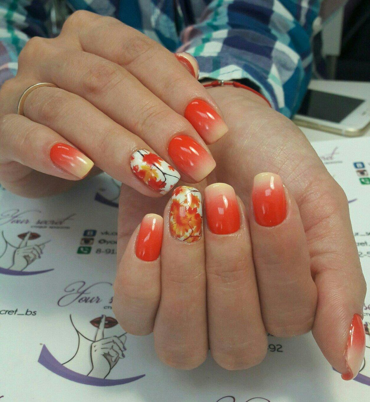 Дизайн ногтей гель-лаком 48