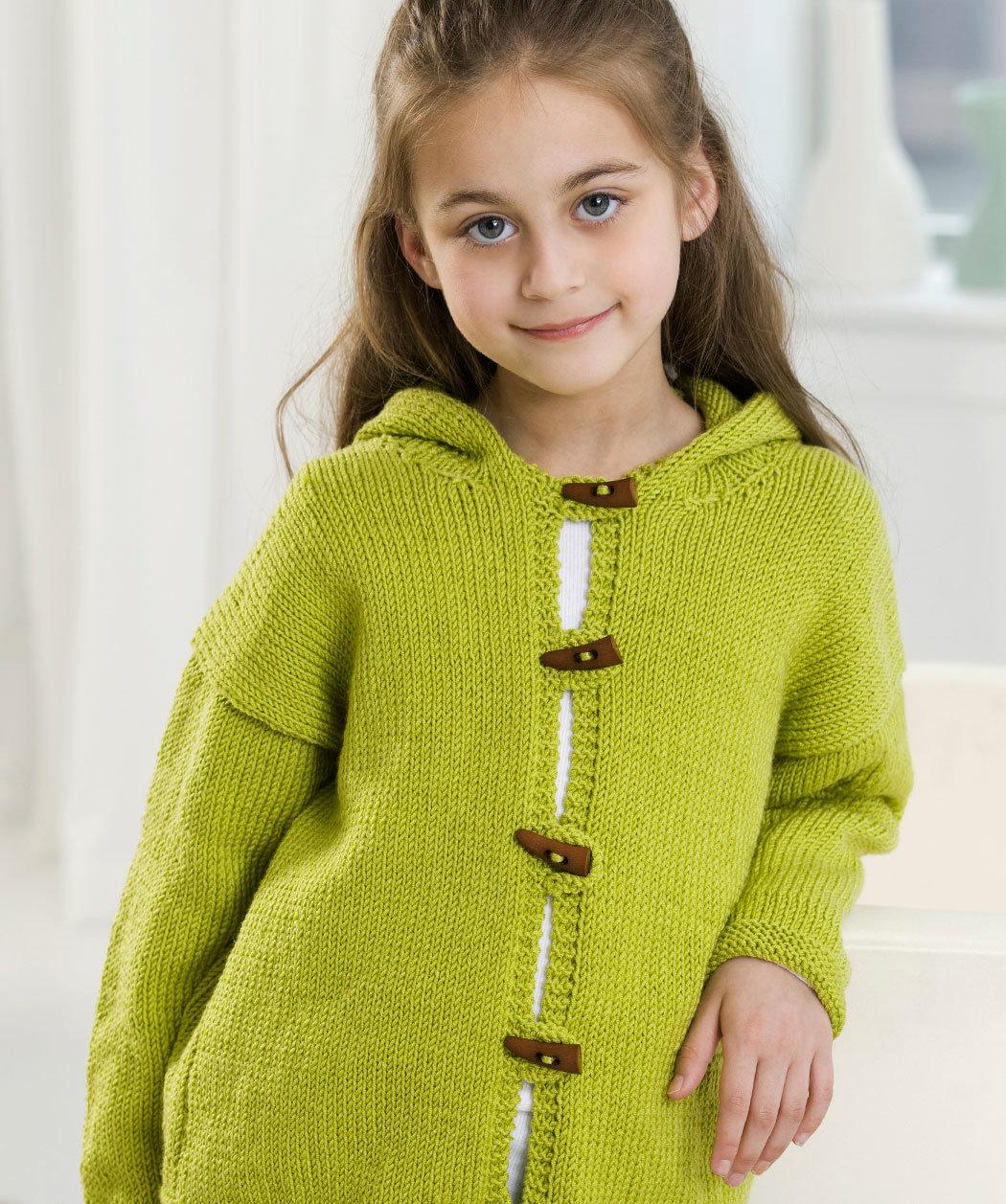 Все о вязании: Вязать Крючком Теплой Кофты Для Девочки 4