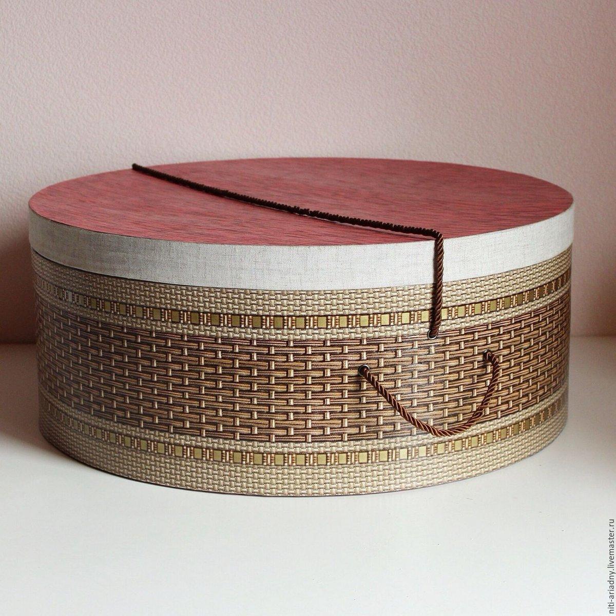 Коробки для шляп своими руками 44