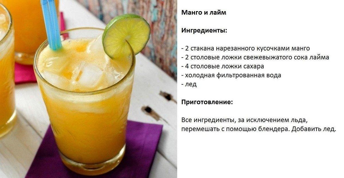 Рецепты быстрых напитков в домашних условиях 197