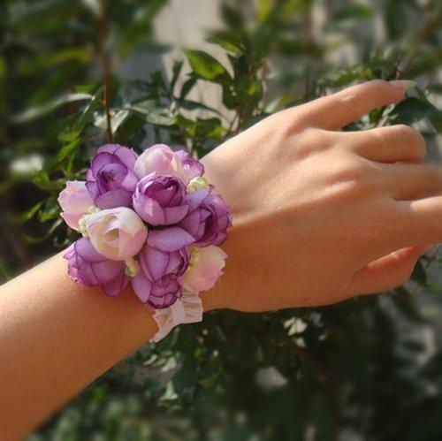 Цветок на запястье своими руками