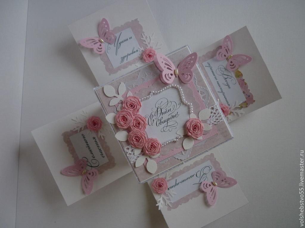 Коробка открытка своими руками на свадьбу 73