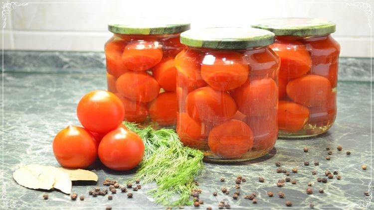 Вкусные помидоры без стерилизации на зимуы