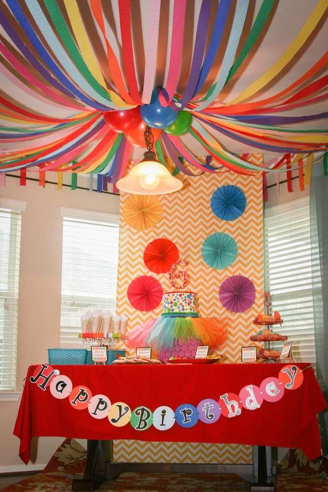 Декор для дня рождения детей своими руками