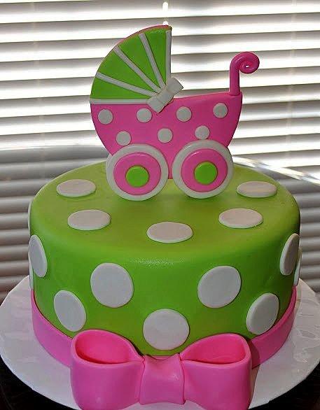 Украшаем торт мастикой для девочки