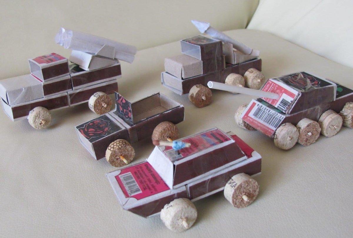 Поделки из спичечных коробков для мальчиков и девочек 3