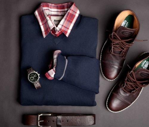 Модная одежда и аксессуары для мужчин