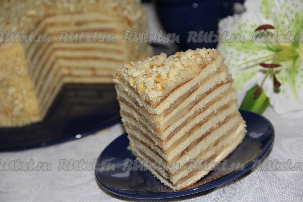 Рецепты тортов со сгущёнкой в домашних условиях 745