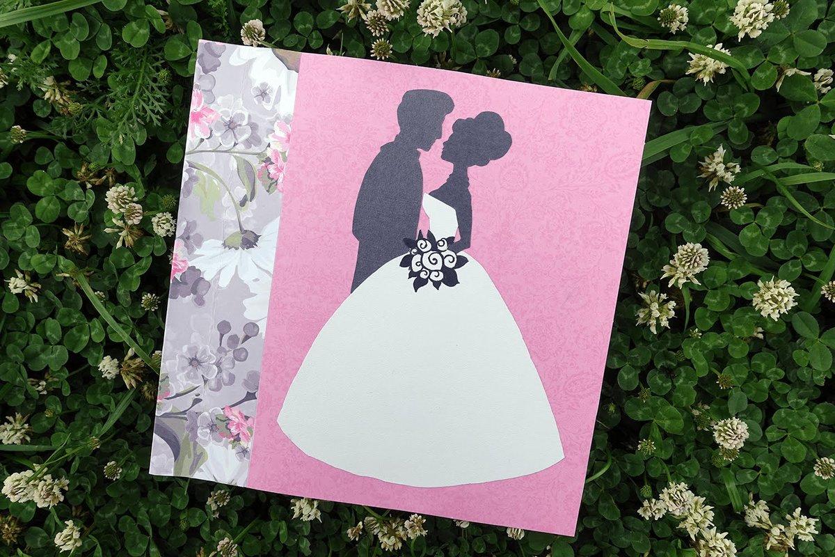 Как сделать открытку своими руками на свадьбу 16