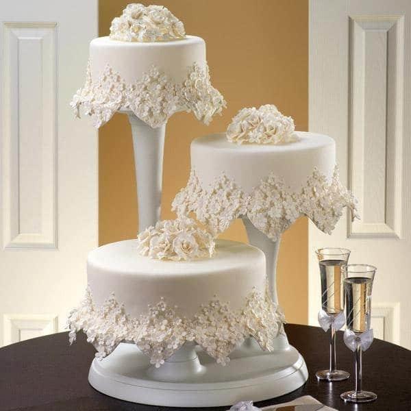 Как в домашних условиях сделать свадебный торт 135