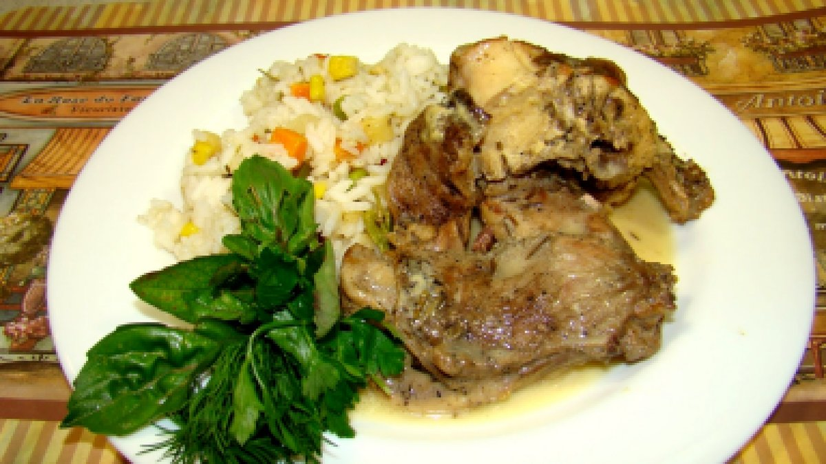 Как приготовить кролика с овощами фото рецепты пошагово