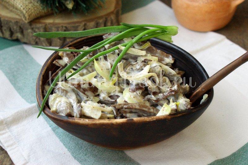 Рецепты салатов мясных с солеными огурцами рецепт