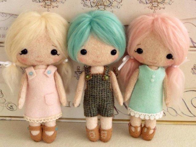Куклы своими руками быстро сделать 18