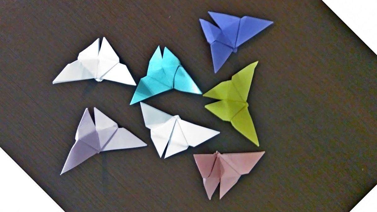 Поделка из бумаги оригами без клея 957