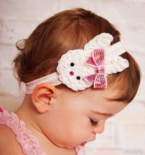 Повязка из фетра на голову для девочки своими руками из 65