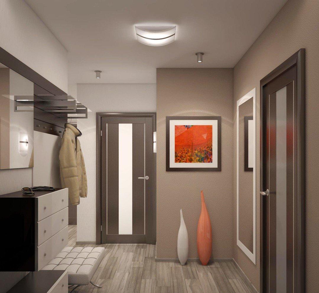 Ремонт в коридоре идеи фото квадратный