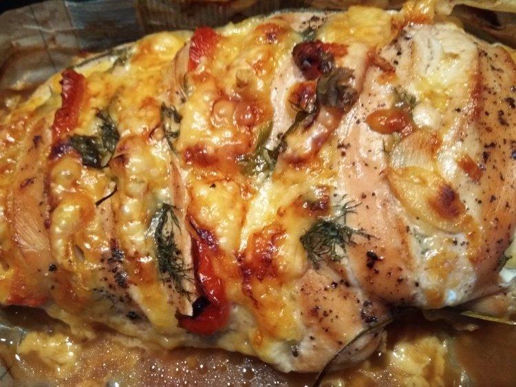 Рецепт запеченной филе индейки в духовке фото