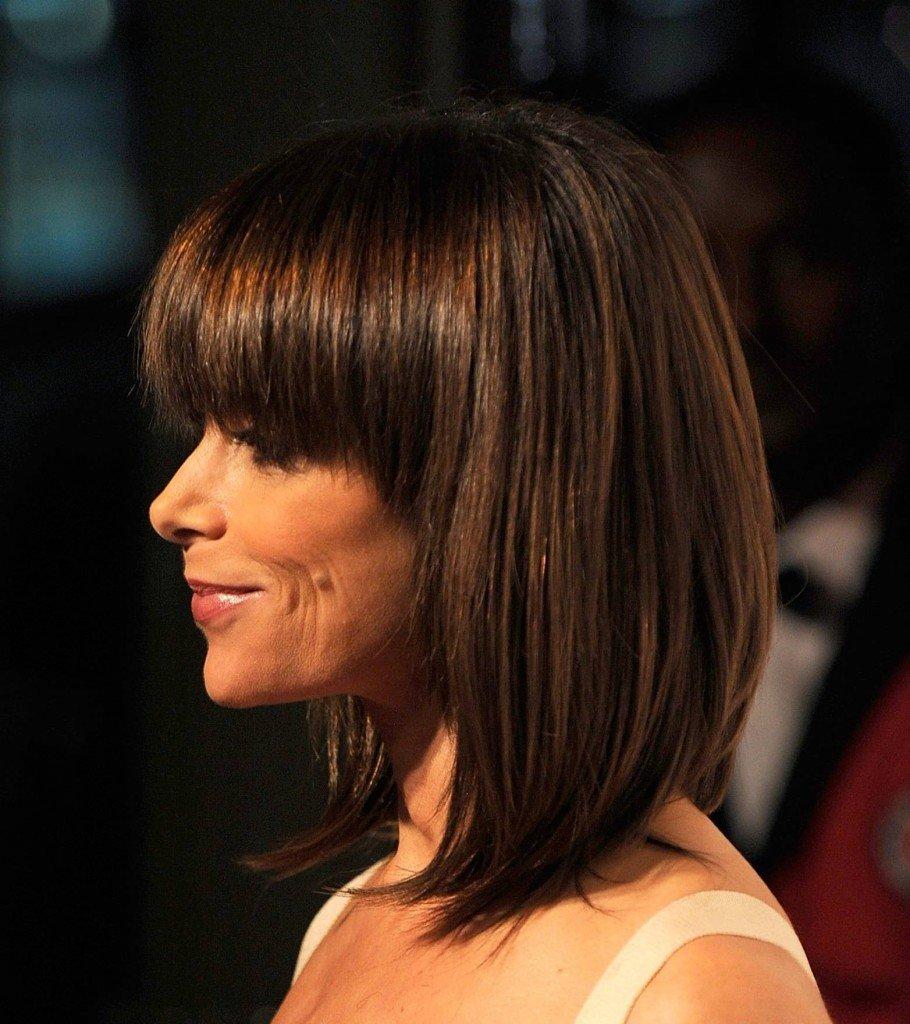 Прически для волос средней боб