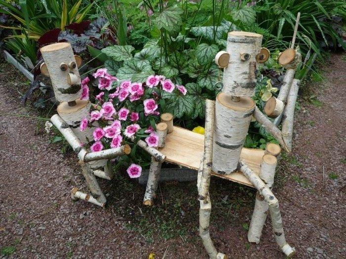 Садовые поделки своими руками с фото 208