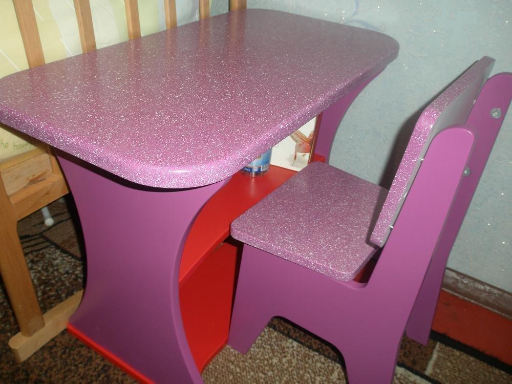 Детский столик для ребенка своими руками 18