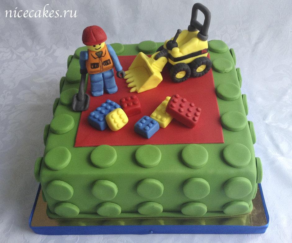 Торт лего пошагово своими руками 76