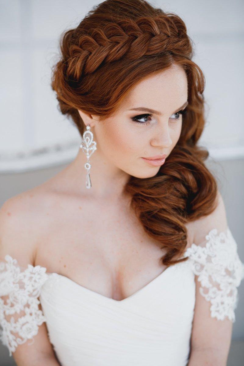 макияж для рыжих волос в фото