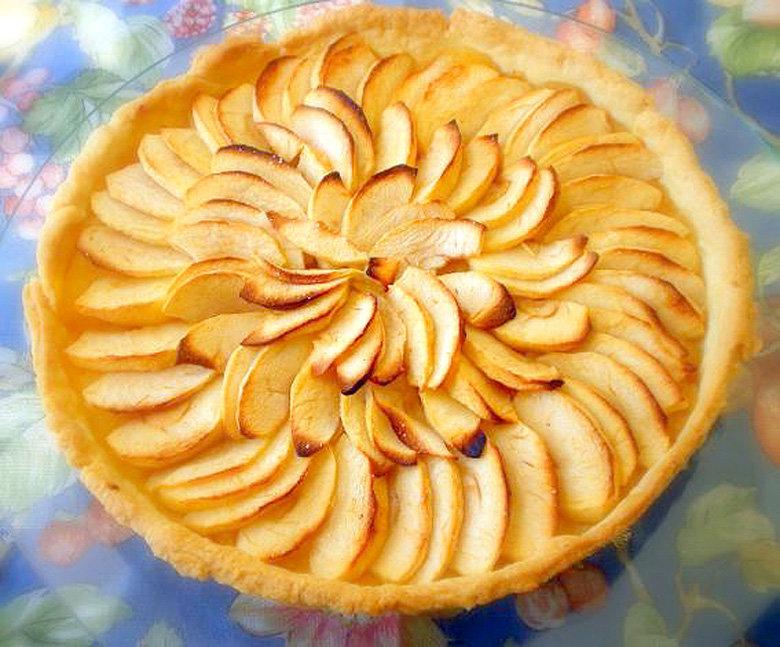 Пирог яблочный открытый 172