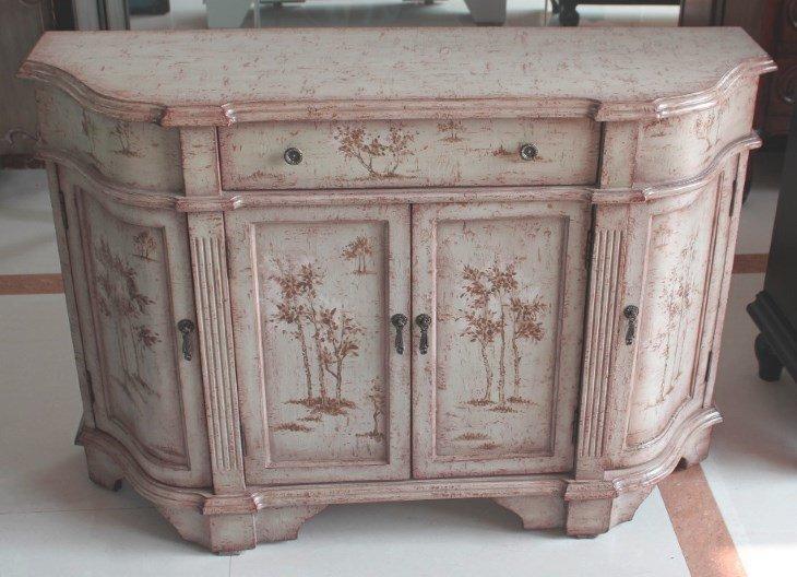 Декупаж мебели в стили прованс своими руками 956