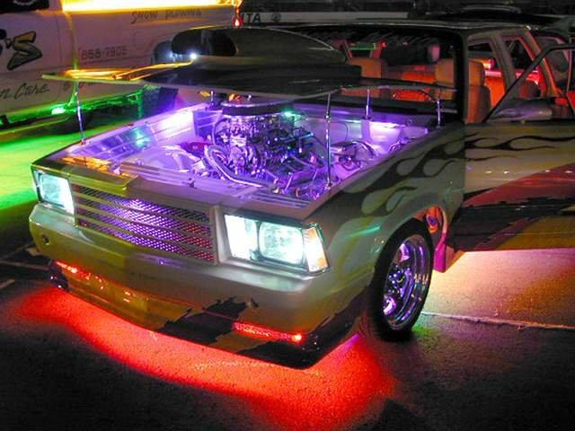 Светодиодная подсветка на автомобиль