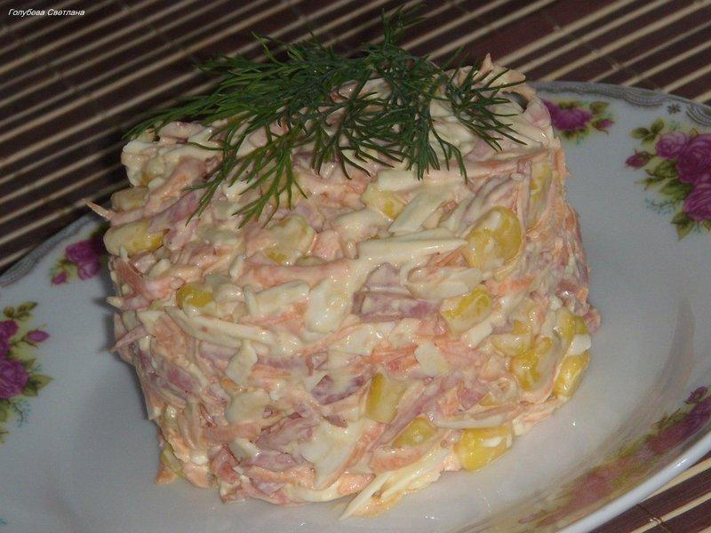 Как сделать салат быстрый и вкусный