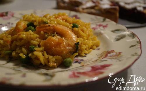Паэлья с морепродуктами классическая пошаговый