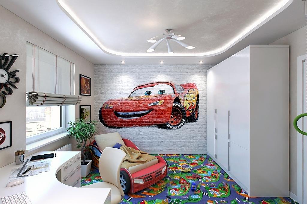 Ремонт в детской комнате фото для мальчика своими руками 94